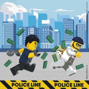 Lego City lautasliinat 20kpl/pkt