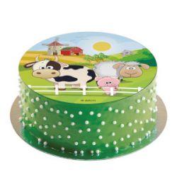 Kakkukuva, Maatilan eläimet