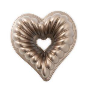 Nordic Ware, Elegant Heart kahvikakkuvuoka kupari viimeistely