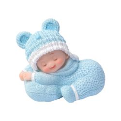 Kakkukoriste nukkuva poikavauva