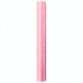 Organza 36cmx9m, vaaleanpunainen