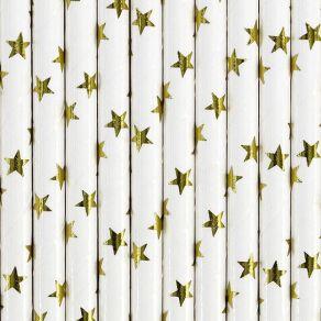 Paperipilli kultaiset tähdet 10kpl/pkt