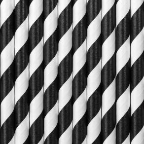 Paperipilli raidat musta-valkoinen 10kpl/pkt