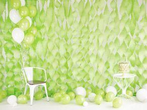 Kumipallot 10kpl/pss, pastel lime green
