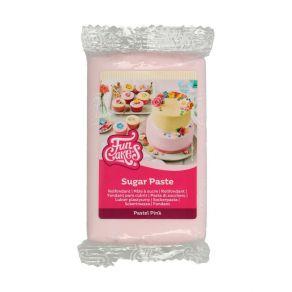 Sokerimassa Pastel Pink 250g, vaniljan maku FunCakes