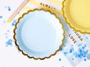Pastelli lautaset vaaleansininen 6kpl/pkt