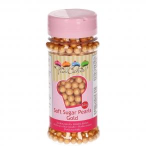 Pehmeä sokerihelmi, kulta 55g