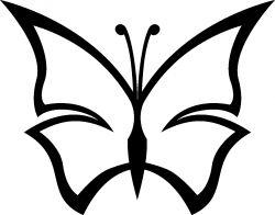 Painolaatta perhonen omalla tekstillä