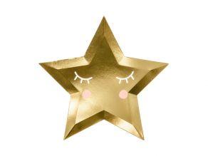 pieni tähti muotolautanen