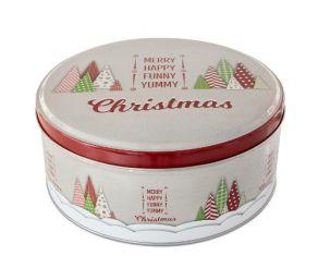 Peltinen pikkuleipärasia Yummy Christmas 22cm