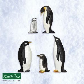 pingviini silikonimuotti