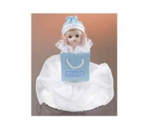 Kakkukoriste ristiäisiin poikavauva
