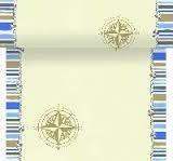 Poikkiliinarulla 0,4m x 24m, marine