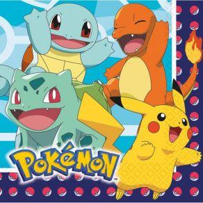 Pokemon servetit 16kpl/pkt uusi