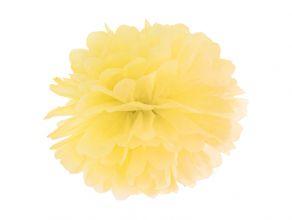 pompom keltainen