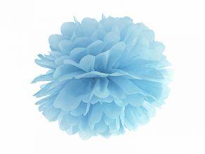 sumuinen sininen pompom