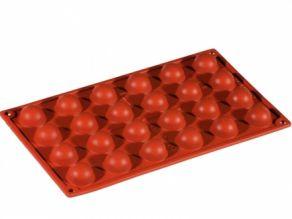 puolipallomuotti silikonia