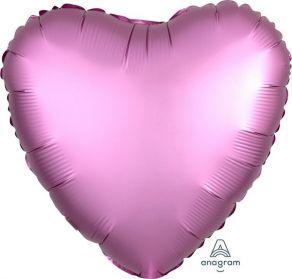 Satiinipinkki sydän, tavallinen foliopallo