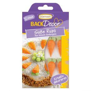 porkkana sokerikoristeet