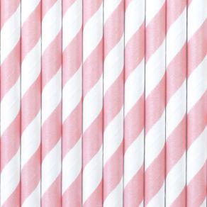 Paperipilli raidat vaaleanpunainen 10kpl/pkt