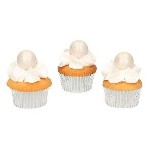 Fun Cakes hopea suklaapallo 8kpl/pkt