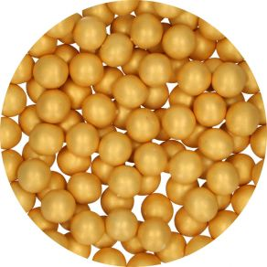 Candy Choco Pearls Large Gold 70g