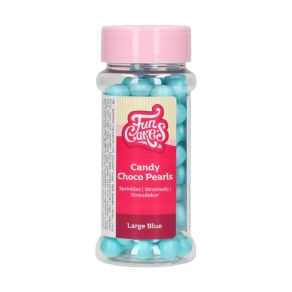 Candy Choco Pearls Large Blue 70g