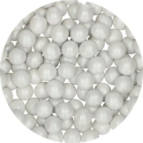 Candy Choco Pearls Large White 70g