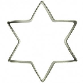 Tähti 6sakarainen pikkuleipämuotti 6cm
