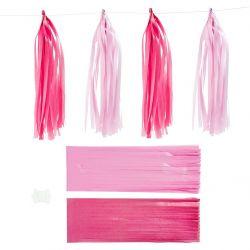 Tasselinauha pinkki/vaaleanpunainen 12kpl/pkt