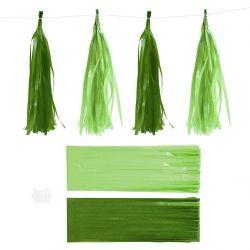 Tasselinauha lime/vihreä 12kpl/pkt