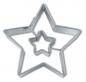 Tähti tähdestä pikkuleipämuotti