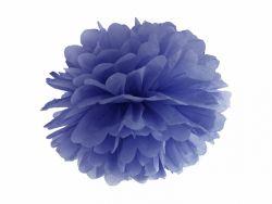 Pompom paperikoriste sininen 25cm