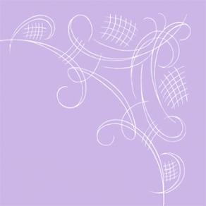 Havin kahviliina laventeli yksilöllisesti painettuna