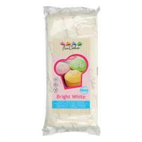 Sokerimassa valkoinen 1kg, vaniljan maku FunCakes