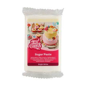 Sokerimassa valkoinen 250g, vaniljan maku FunCakes