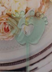 Kakkukoristetikku varpaat sydämellä minttu