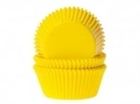 Muffinssivuoat 50kpl/pkt, keltainen